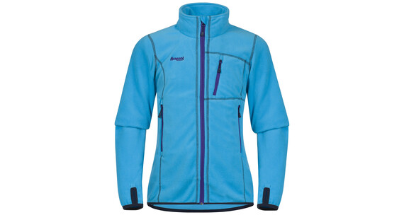 Bergans Youth Girl Runde Jacket Br SeaBlue/Navy/Lavender